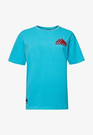 Print T-shirt - aquamarine