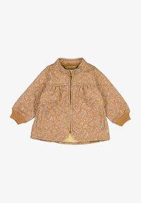 Wheat - Winter jacket - golden flowers - 0