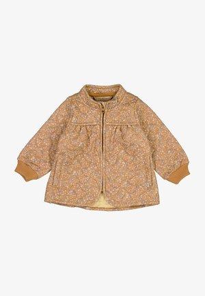 Winter jacket - golden flowers