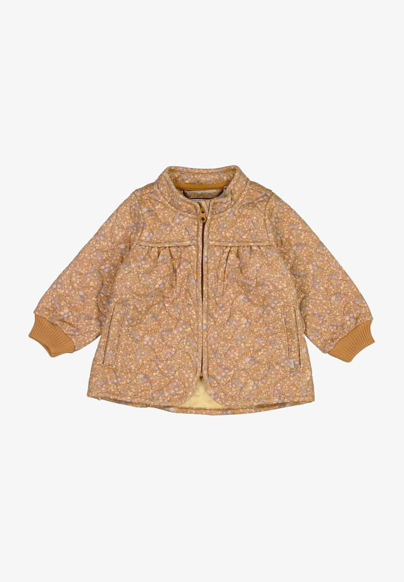 Wheat - Winter jacket - golden flowers