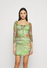 NEW girl ORDER - TROPICAL ANIMAL DRESS - Day dress - multi - 0