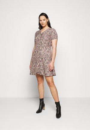 CARFAVE SHORT DRESS - Vestido informal - black