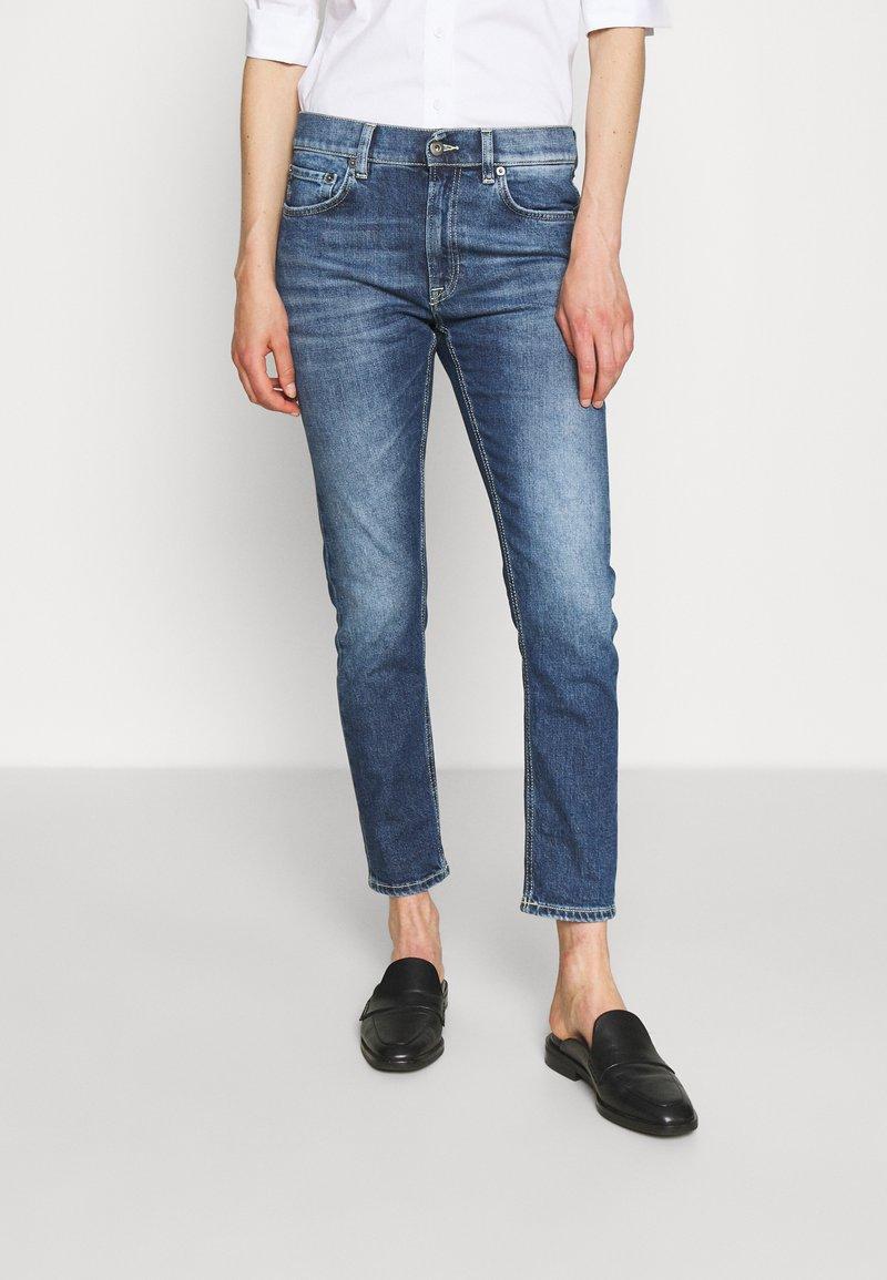 Dondup - PANTALONE MILA - Slim fit jeans - blue denim