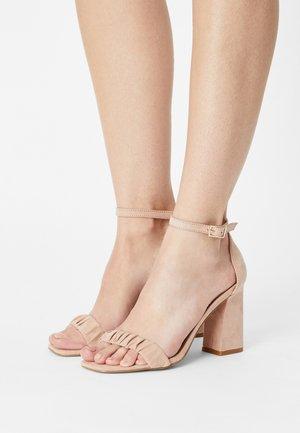 ONLALYX LIFE - Sandals - light pink