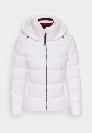 GLOBAL STRIPE - Down jacket - classic white