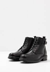 Friboo - Lace-up ankle boots - black - 3