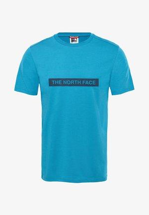 M S/S LIGHT TEE - Print T-shirt - light blue
