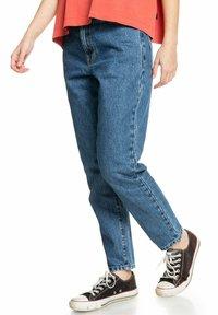 Quiksilver - Straight leg jeans - medium blue - 4