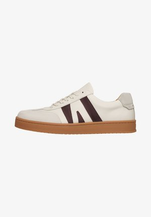 RETRO DRAFT BB - Sneakers laag - beige/rot
