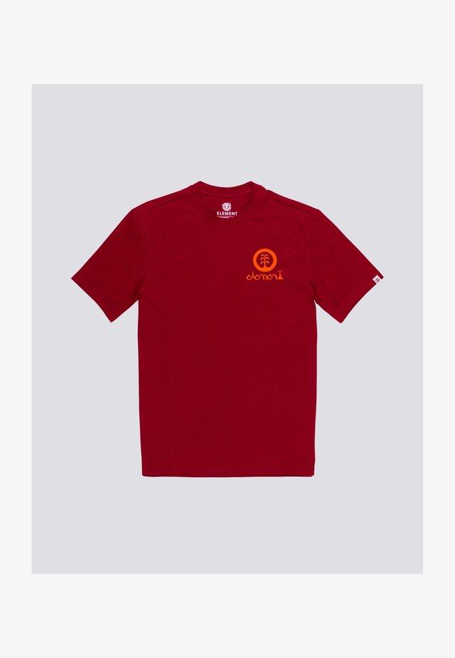 Javier Mendizabal - T-shirt print - chili pepper