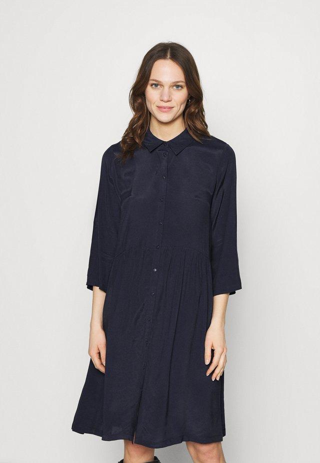 ELODIE DRESS - Shirt dress - blue deep