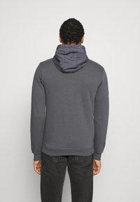 Glorious Gangsta - DANTOSZIP THROUGH - Zip-up hoodie - charcaol - 2