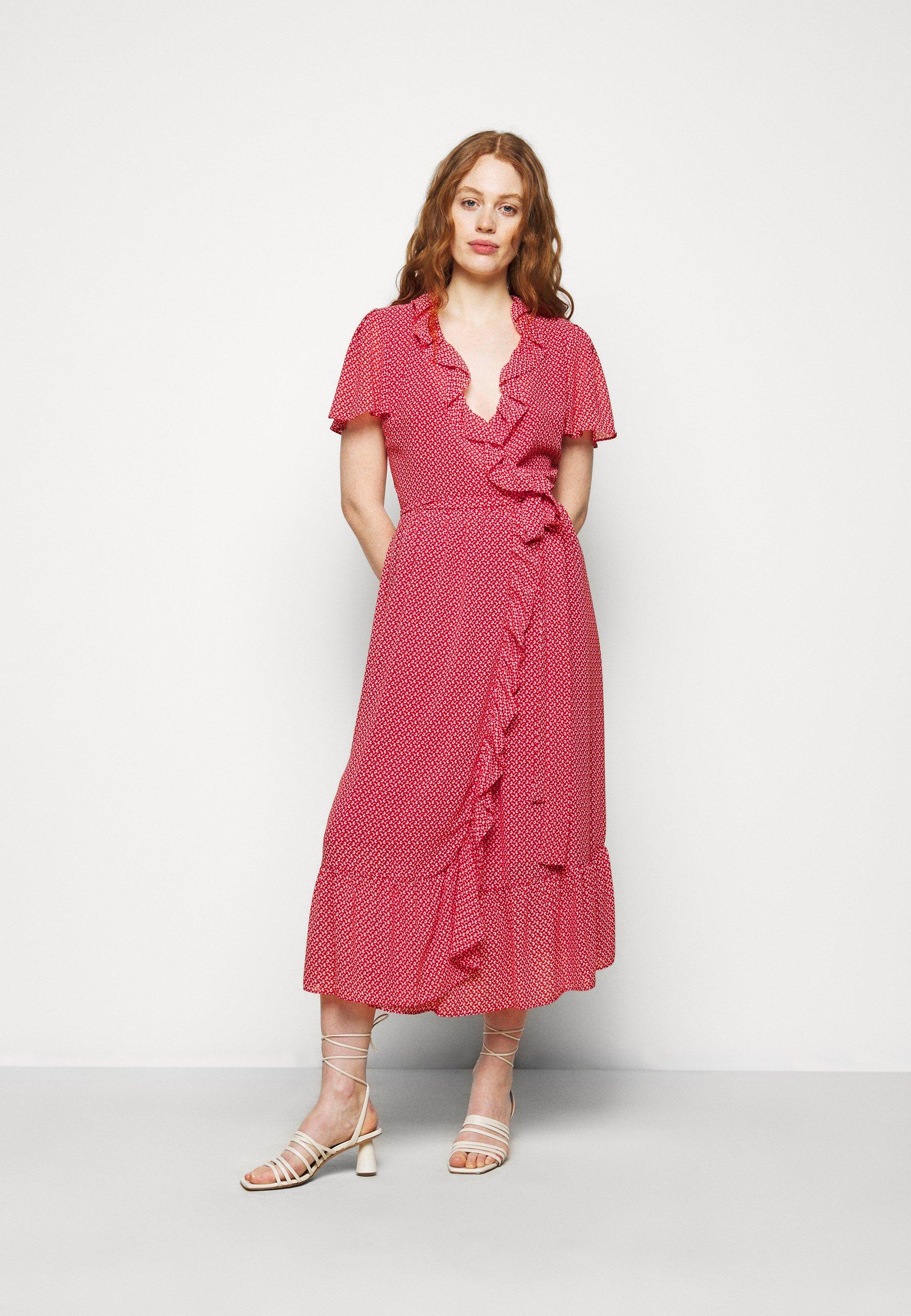 Women PRINTED MIDI DRESS - Day dress
