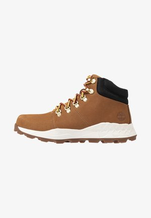 BROOKLYN HIKER - High-top trainers - wheat