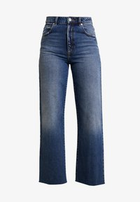 Abrand Jeans - JOSEPHINE SKRIVER A STREET ALINE - Flared jeans - danish blue - 5
