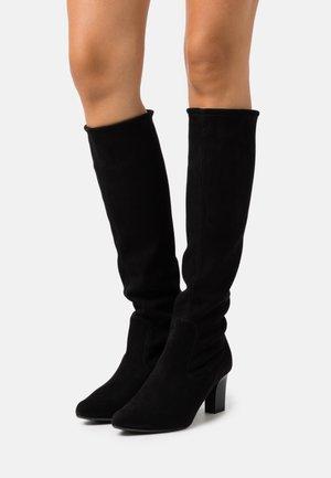MONJA - Vysoká obuv - schwarz