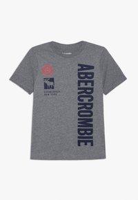 Abercrombie & Fitch - PRINT LOGO - Print T-shirt - grey - 0