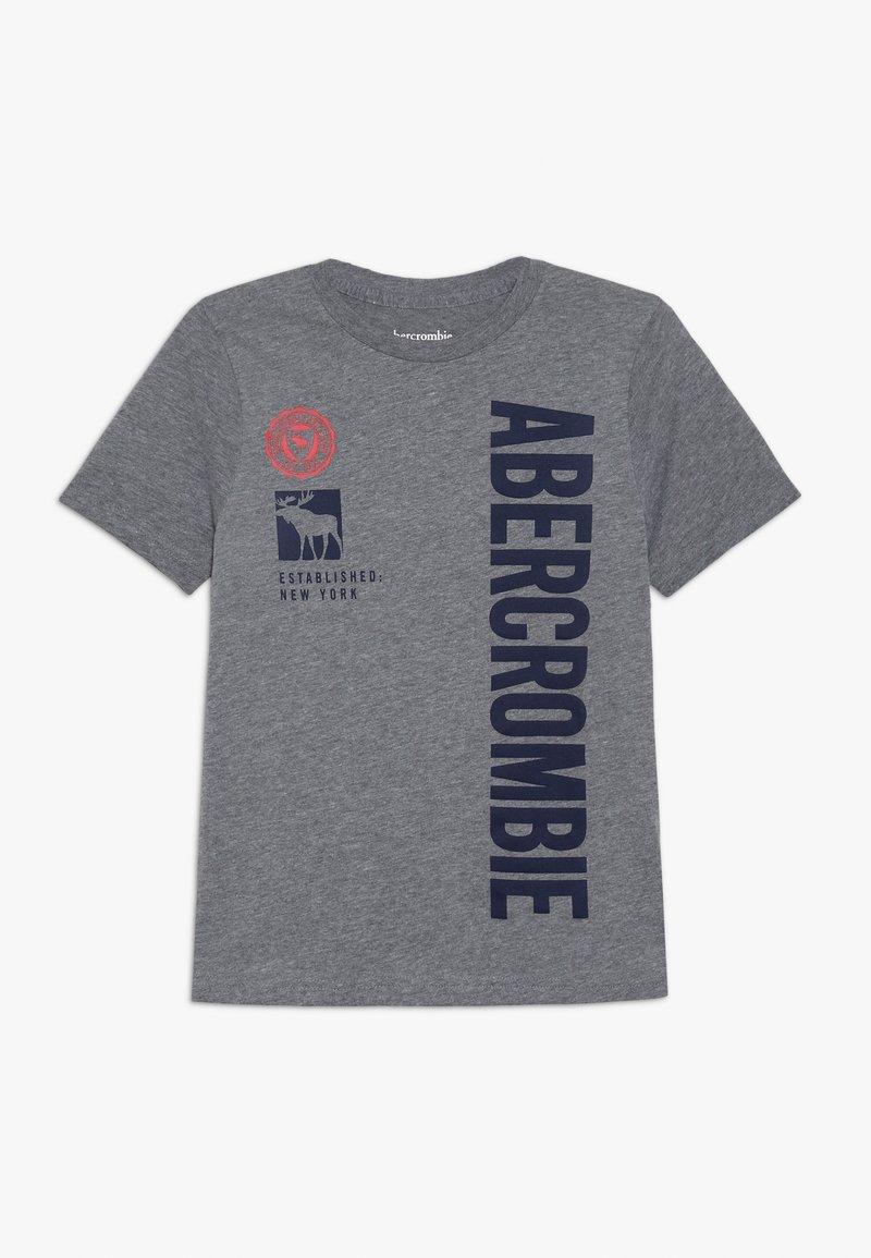 Abercrombie & Fitch - PRINT LOGO - Print T-shirt - grey