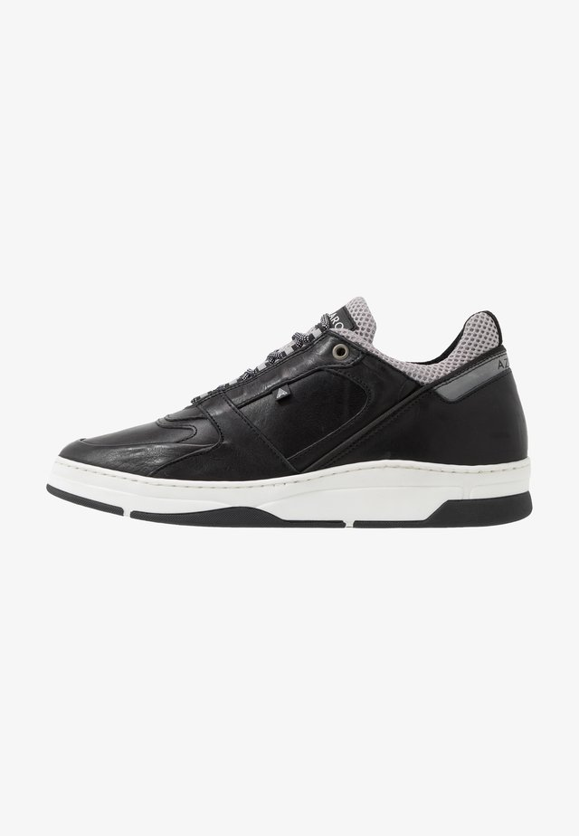 JOGGING - Baskets basses - noir/gris
