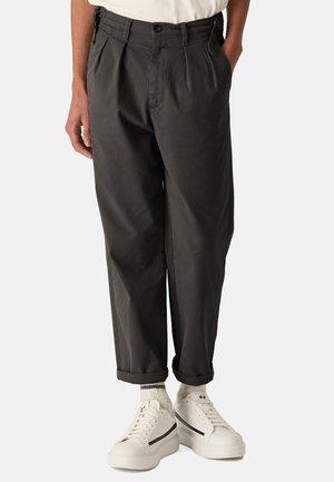STELVIO - Trousers - black