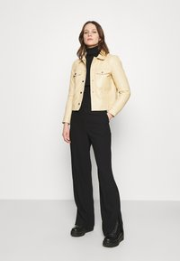 Deadwood - FRANKIE - Leather jacket - beige - 1
