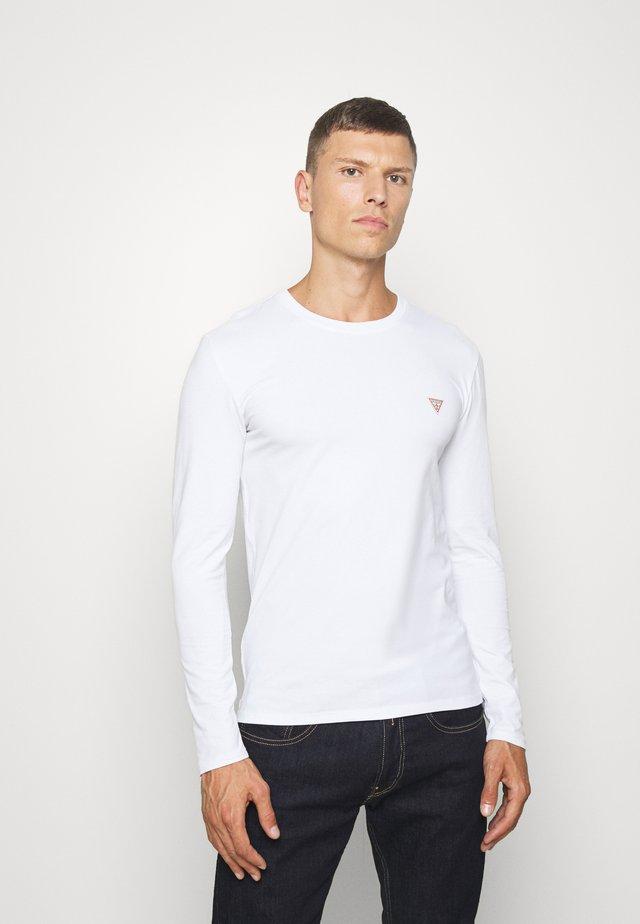 CORE TEE - Bluzka z długim rękawem - blanc pur