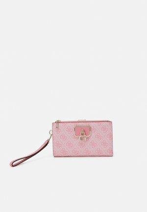 ALISA DOUBLE ZIP ORGANIZER - Wallet - pink