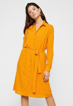 Shirt dress - inca gold