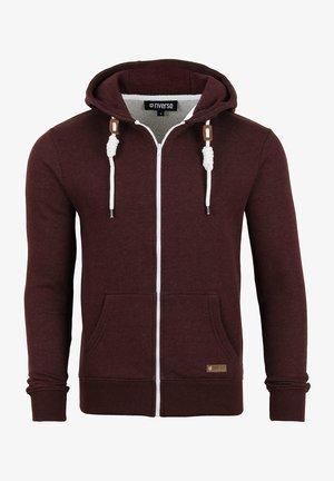 RIVTHILO - Zip-up sweatshirt - dark red
