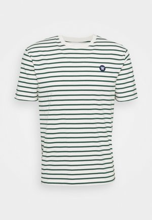 ACE - T-shirts print - offwhite/faded green