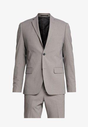 PLAIN MENS SUIT - Suit - sand melange