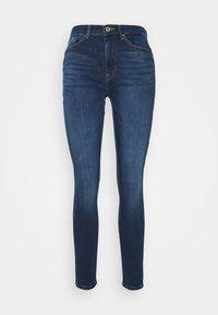 ONLPAOLA LIFE - Skinny džíny - dark blue denim