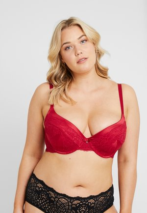 ANDERSON - Underwired bra - red