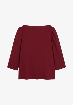 RAYETAS - Long sleeved top - maroon