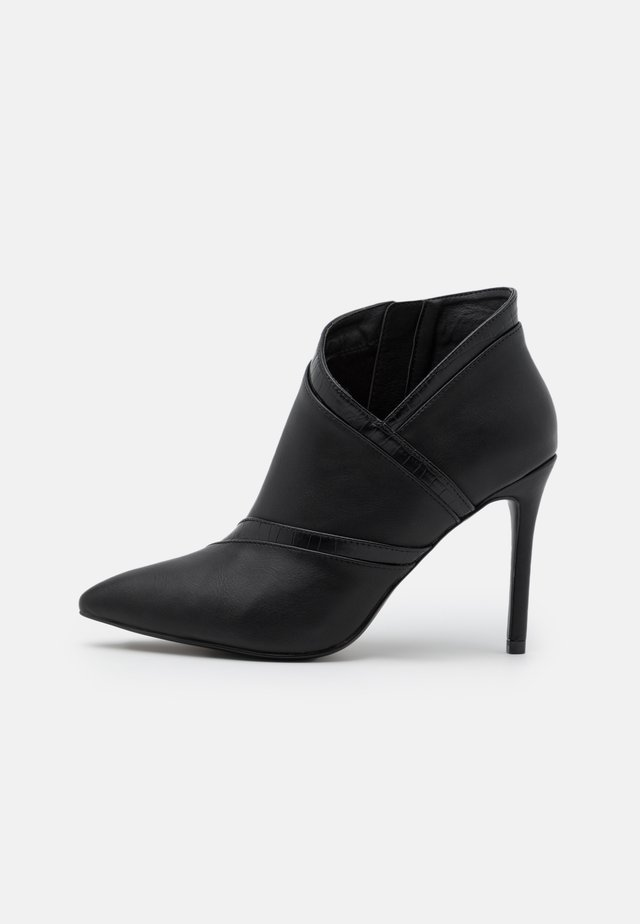 AMISS - Bottines à talons hauts - black