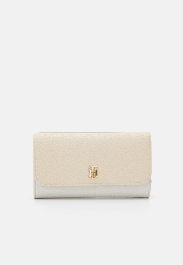 ESSENCE FLAP WALLET - Wallet - beige