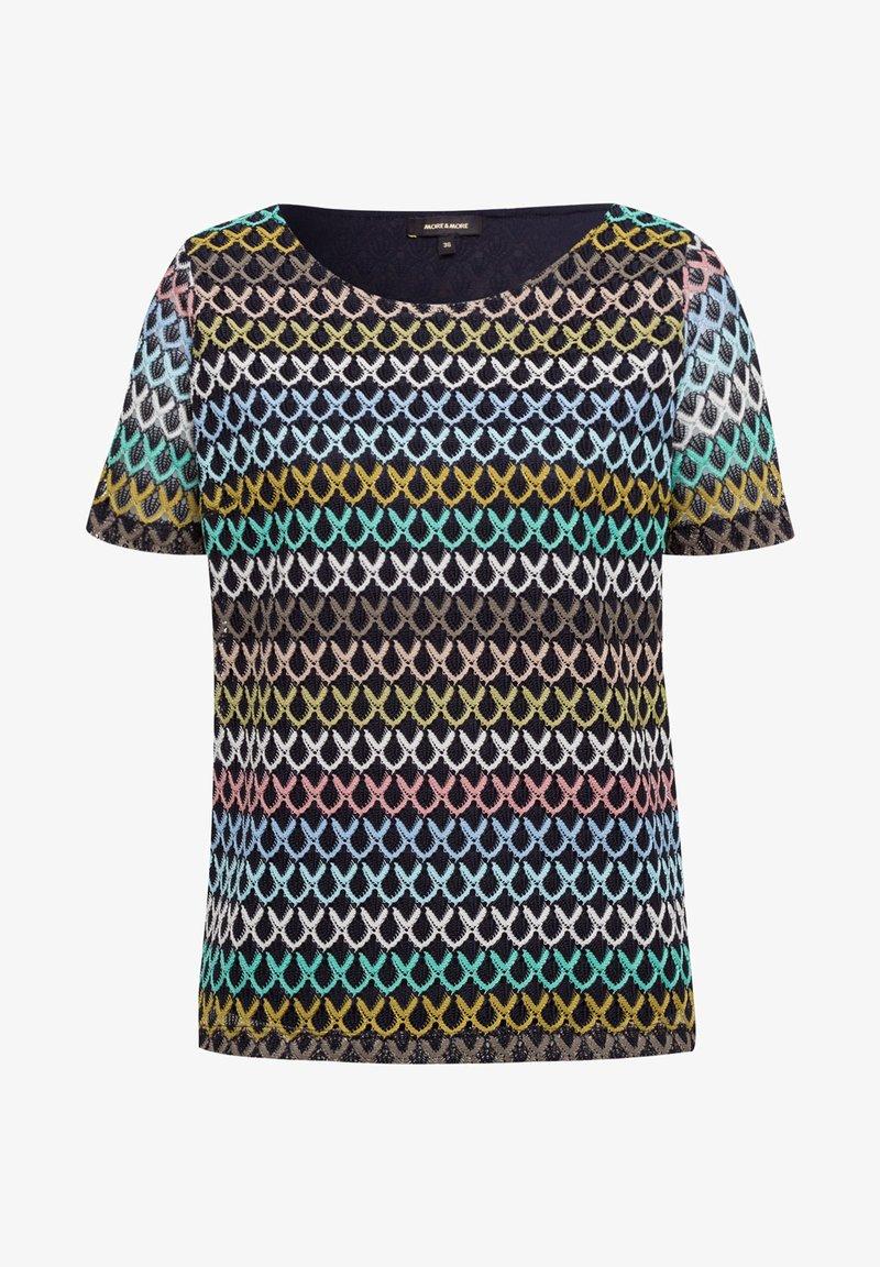 More & More - Print T-shirt - mehrfarbig