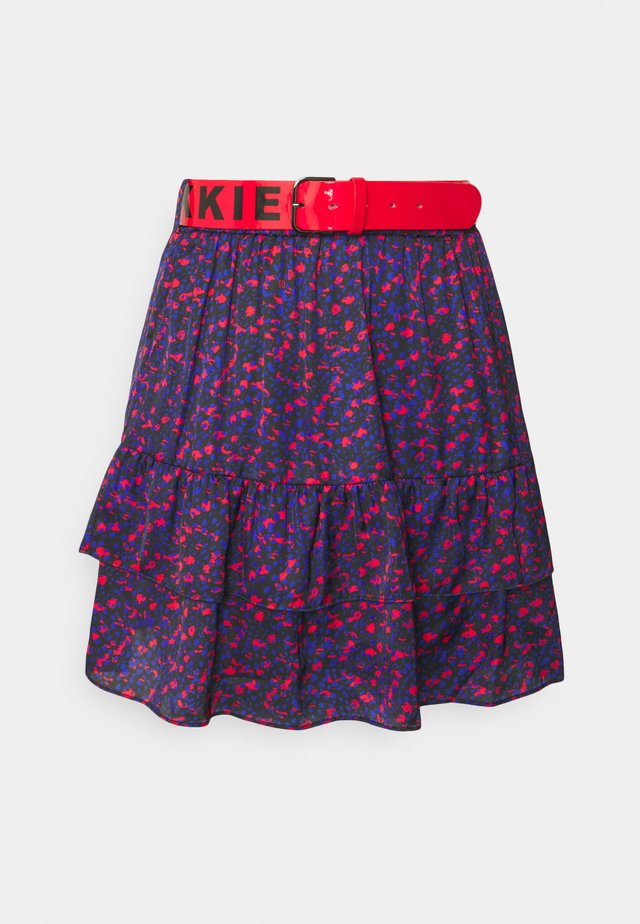 SINCLAIR SKIRT - Mini skirt - rough red