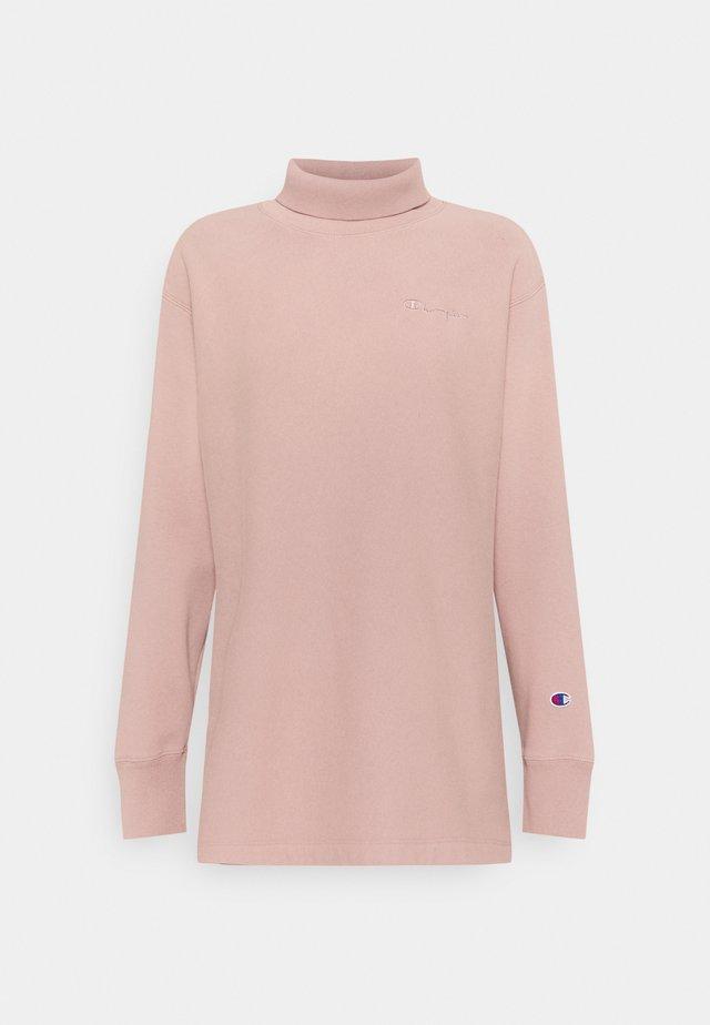 HIGH NECK - Sweatshirt - lilac
