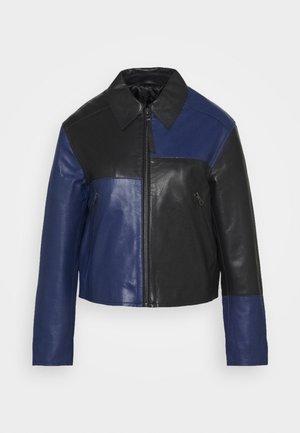 VEIRI - Leather jacket - deep well