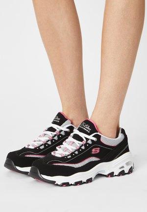D'LITES - Zapatillas - black/white/pink