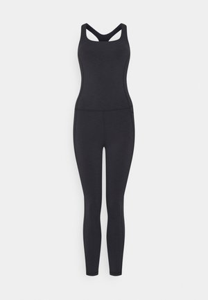 SUPER SCULPT UNITARD - Gym suit - black