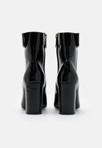 Tommy Hilfiger - SQUARE TOE BOOT - High heeled ankle boots - black