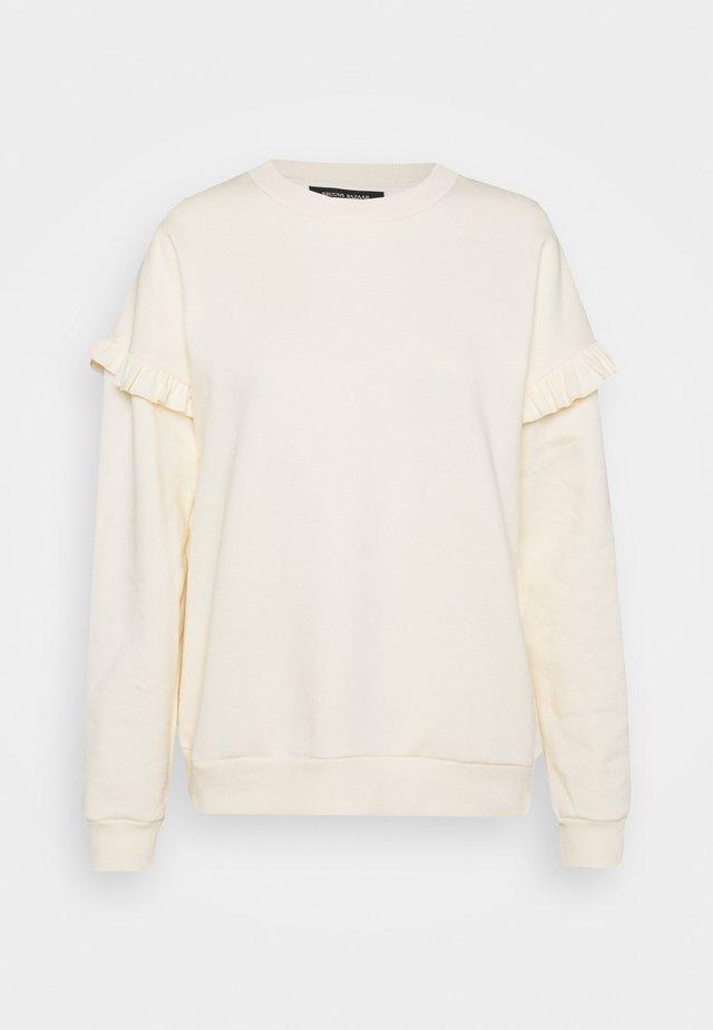 RUBINE RIEA - Sweatshirt - white cream