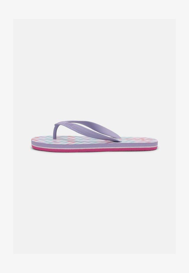 SOUTH BEACH UNISEX - T-bar sandals - lilac
