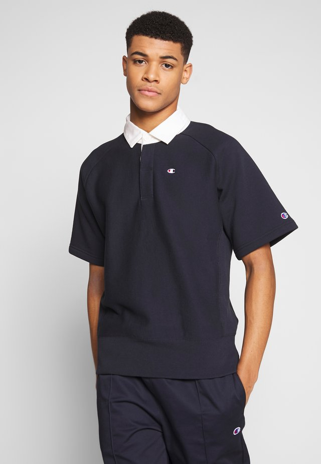 SHORT SLEEVES - Koszulka polo - dark blue