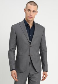 Isaac Dewhirst - FASHION SUIT - Kostuum - mid grey - 2