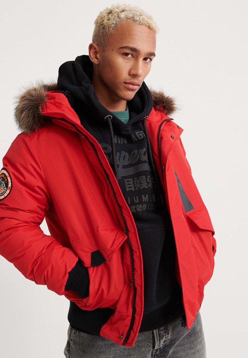Big Sale Wholesale Superdry EVEREST  - Winter jacket - purple | men's clothing 2020 w5uds