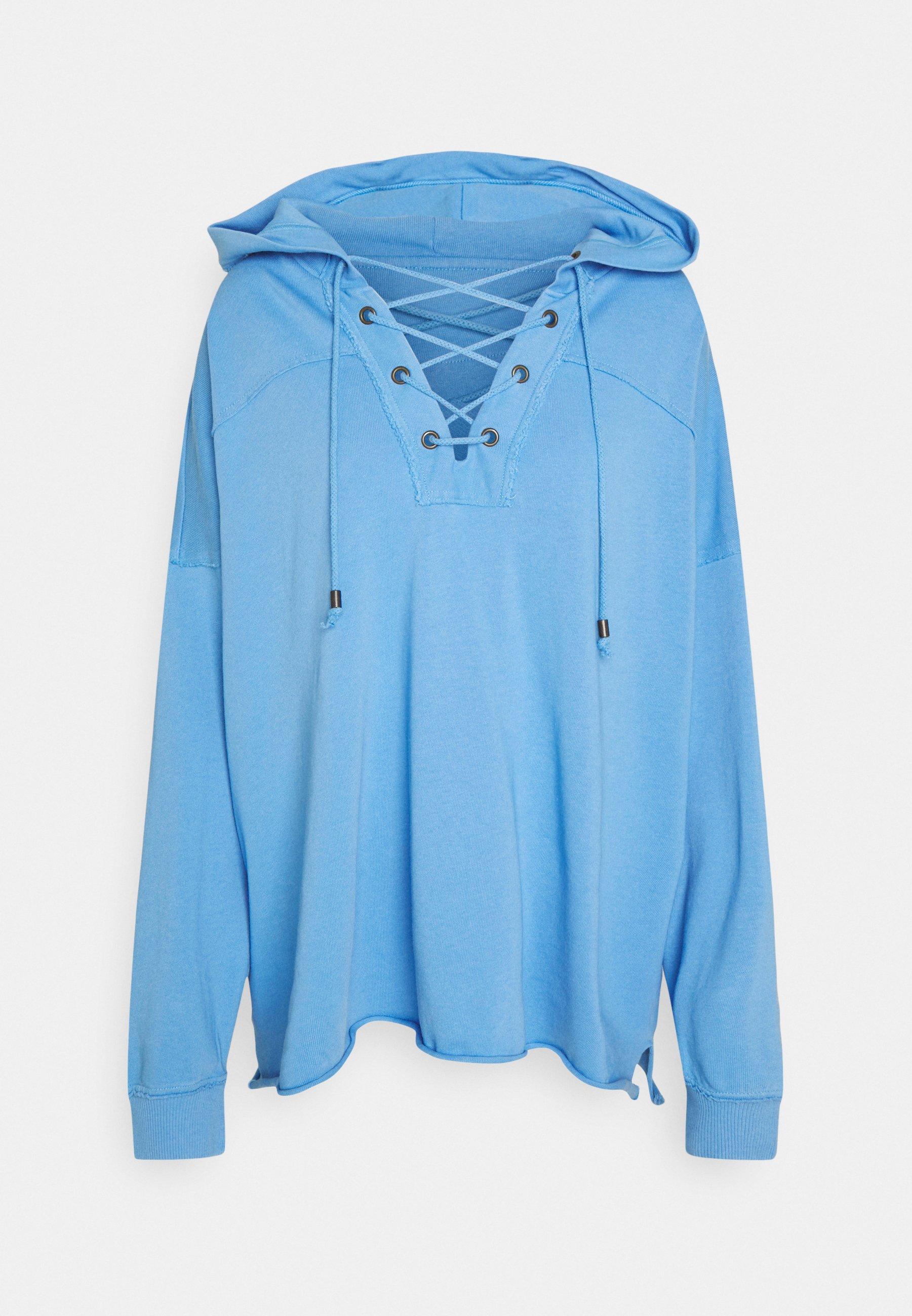 Women LACE UP HOODIE - Sweatshirt