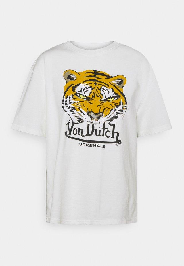 AVERY - Print T-shirt - offwhite
